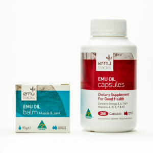 2-Step Pain Relief | Emu Oil Balm & Capsules