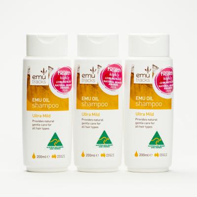 3xEmu Tracks Ultra Mild Shampoo