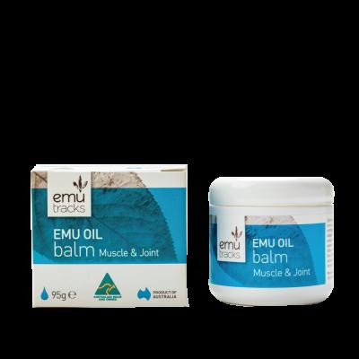 Emu Oil Balm 95g front | ilovenatural.store