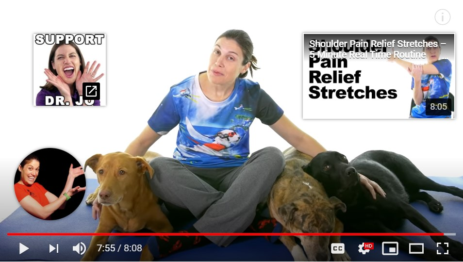 Neck & Shoulder Stretches For Natural Pain Relief