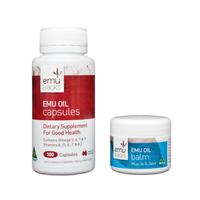 Emu Oil 2 Step to Healthy Joints | ilovenatural.store