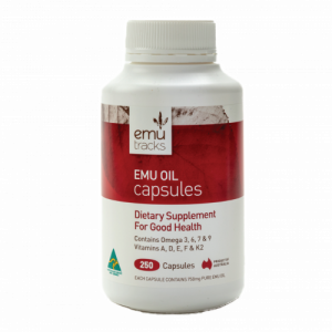 Emu Tracks Emu Oil Capsules