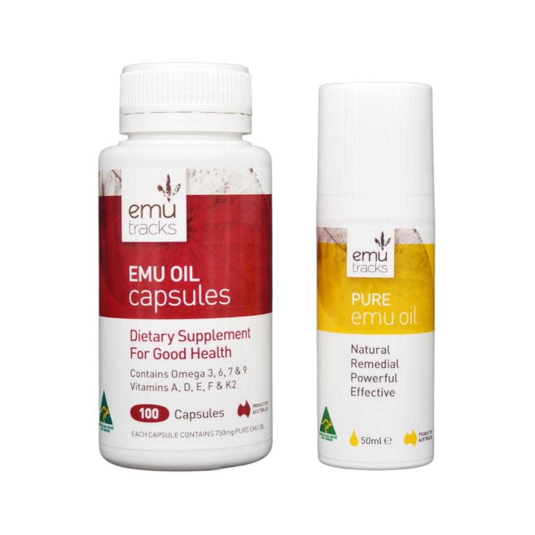 Emu Oil 2 Step to Healthy Skin | ilovenatural.store